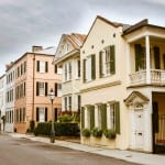 Row houses of Charleston